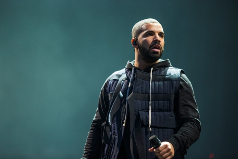 Drake performs at Friday, Day 1 of Wireless Festival 2015 at Finsbury Park, London